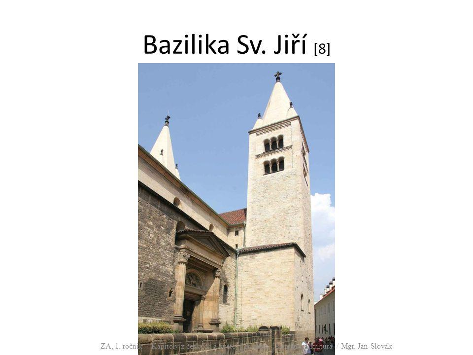 Bazilika Sv. Jiří [8] ZA, 1.